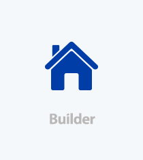 Home Logo Icon - Builder